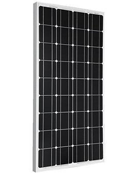 Giosolar 100Watts 12v Monocrystalline Solar Panel 100W, 90mm