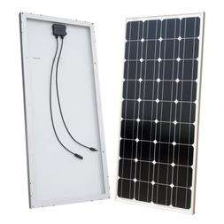 100W Solar Panel 100 Watts 12 Volt Monocrystalline Photovolt