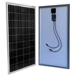 Solar Panel Off-Grid Polycrystalline 100-Watt for 24/48-Volt