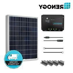 Renogy 100W 12V Solar Panel Starter Kit Off Grid system RV B