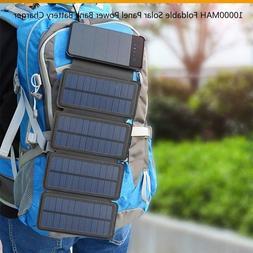 Solar Panel Power Bank Battery Charger 8W/6W10000MAH Foldabl