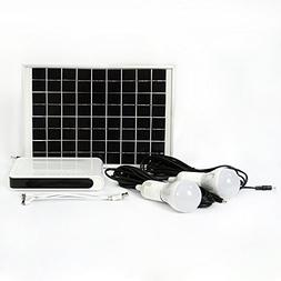 10W 16Volt Solar Panel Power Generator LED Lighting System 2