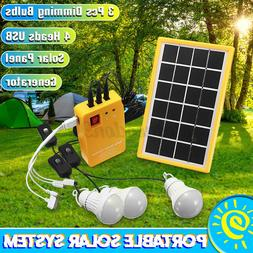 solar panel power system kit charging generator