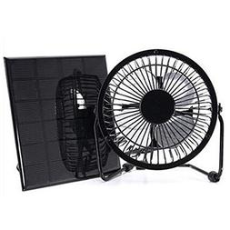 solar panel powered cooling fan