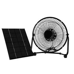 VGEBY Solar Panel Powered Fan, Mini Portable Solar Energy Co
