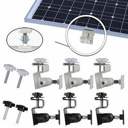 Solar Panel/Ring Spotlight Camera Bracket Gutter Mounting Fl