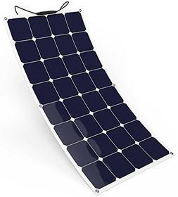 GIARIDE 100W 18V 12V Solar Panel SunPower Flexible Bendable