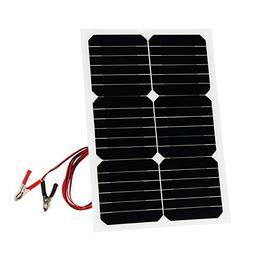 20 Watt Solar Panel Sunpower 18V 12V Portable Solar Panel Ch