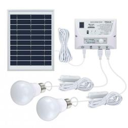 SUAOKI Solar Panel System Lights Kit, Upgraded Portable Home