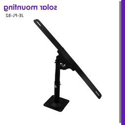 Solar Panel Universal Adjustable L-Style Pole, Wall Mounting