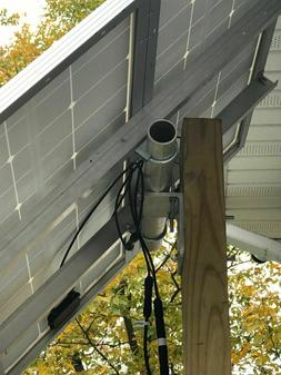 Solar panel universal post mount kit, Holds 2 100 watt panel