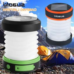 Suaoki Solar Panel USB Rechargeable Camping LED Lantern Coll