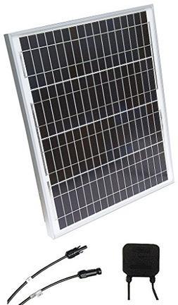 Solar Panel 40 Watt 24 Volt Solartech Power W-series Polycry