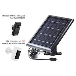 Solar Panel for Ring Stick Up Cam and Reolink Argus 2 - Powe
