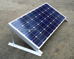 "GreenergyStar Solar Panel Z Bracket, 24"", 28"" Adjustable RV"
