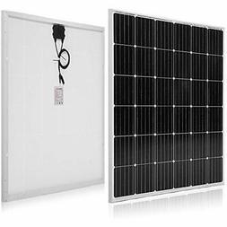 Solar Panels 150 Watt 12 Volt Monocrystalline Garden &amp Ou