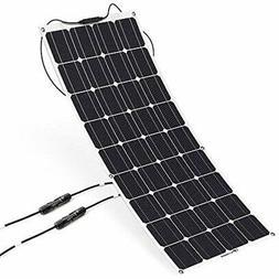 Solar Panels ALLPOWERS 18V 12V 100W Charger Monocrystalline