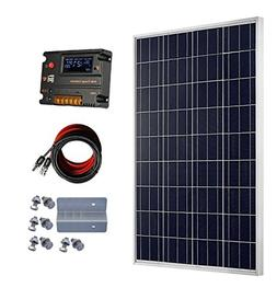 ECO-WORTHY 100 Watt 12V Solar Panels Kit + 20A Charge Contro