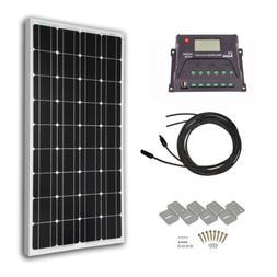 Solar Panels HQST 100 Watt 12 Volt Monocrystalline Solar Pan