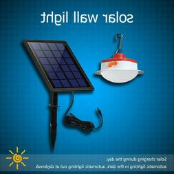 Solar Panels Split Wall Lamp Hanging Lights Outdoor Garden Y