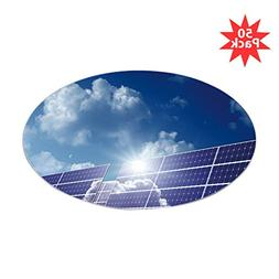 CafePress - Solar Panels In The Sun - - Sticker