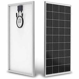 Solar Panels Updated 100W 18V 12V With MC4 Connector Module