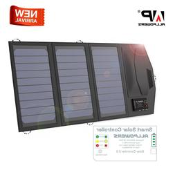 ALLPOWERS Solar Phone Charger Battery Charger Folding Campin