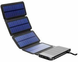 Solar Phone Charger 10.000mAh Power Bank - Portable Smartpho