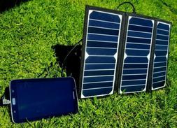 Kingsolar Solar Portable Charger 21 Watt 2 USB PD Ports Wate