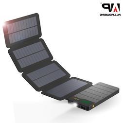 Solar Power Bank Waterproof Charger External Battery Pack fo