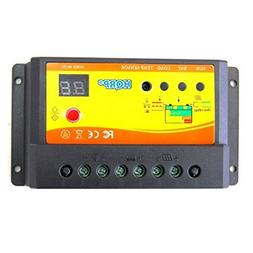 HQRP Solar Power Controller 10Amp 150W with Digital LED Disp