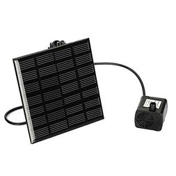 Awakingdemi Solar Power Fountain Water Pump Panel Kit Pool H