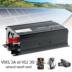 Solar Power Inverter  12V To 230V Modified Sine Wave Convert