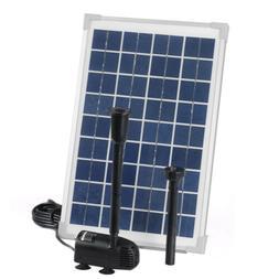 Solar Power Pond Water Pump with 100 Watt 100W 12V Solar Pan