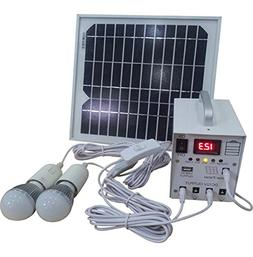 10W Solar Power System 12V Dc Input,10 Watts Solar Kit for H