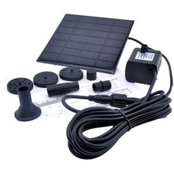 ZhiZhu® 1.2 Watt Solar Power Water Pump Garden Fountain / S