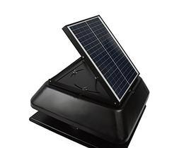Mighty Max Battery 20 Watt solar powered adjustable attic ex