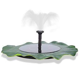 Solar Powered Floating Fountain - Automatical Pond Garden Fi