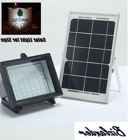 BIZLANDER Solar Powered Flood Light 5W 60LED 874 Lumens Secu