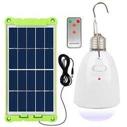NING ZE XIN Solar Light Bulb with Solar Panel Multi-Function