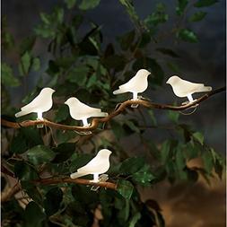 ART & ARTIFACT Solar-Powered Lighted Birds Light String - 5