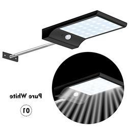 WXLAA Solar Powered Motion Sensor Light 36 LED Outdoor Garde