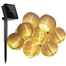 Solar Powered String Lights,KINGCOO Outdoor Solar Lantern