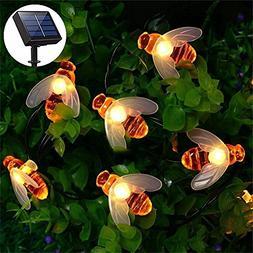 Solar Powered LED String Lights, 30 LEDs Waterproof Fairy De
