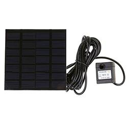 HUANGYABO Solar-Powered Water Pump Silicon Mini Solar Water