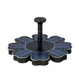 Dugoo Solar Pump,8V 1.6W Floating Water Fountain For Bird Ba