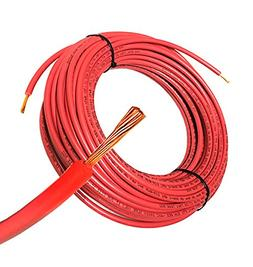 50FT Solar PV Cable, 12 AWG, 2000V Wire, UL 4703 Listed, Cop