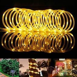 GZQ Solar Rope Lights Waterproof Decorative Fairy String Lig