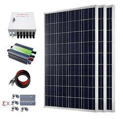 ECO-WORTHY 300 Watts Solar RV Boat Kit Off Grid: 3pcs 1000W