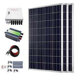 ECO-WORTHY 300 Watts Solar RV Boat Kit Off Grid: 3pcs 1000W
